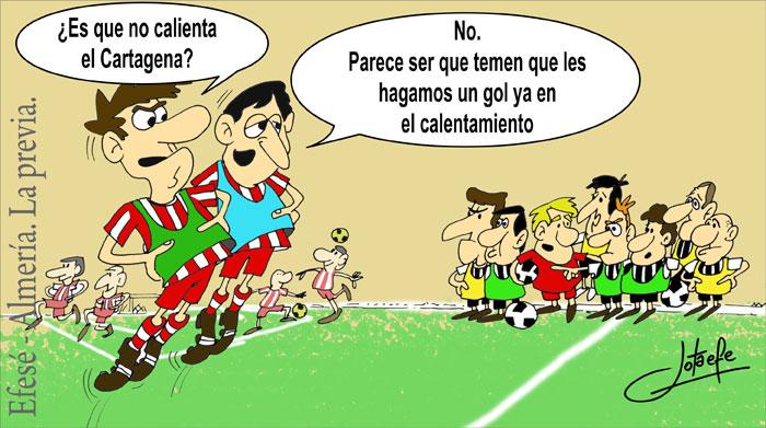 Viñeta publicada en Sportcartagena.es el 4/10/2013.