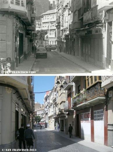 Calle-San-Francisco-1990-2013