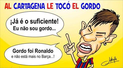 Neymar, el gordo.