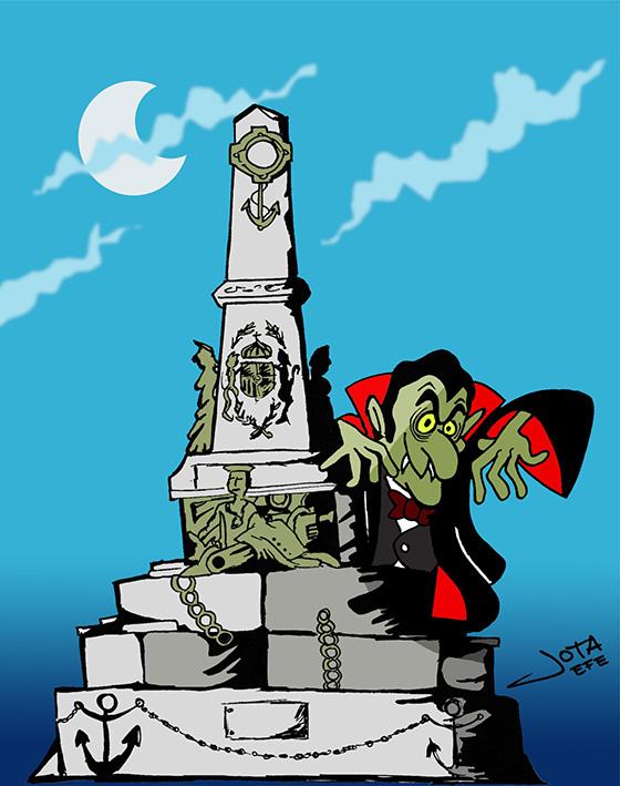 Un vampiro en Cartagena