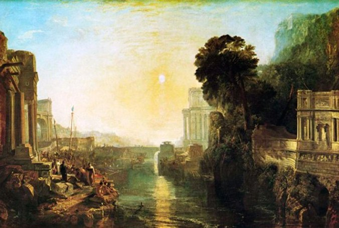 La construccion de Carthago por Dido - William Turner