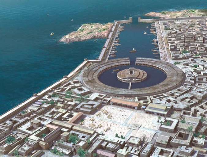 Puerto de Carthago - Recreación