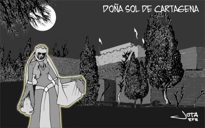 Doña Sol, el fantasma del Castillo de la Concepción