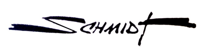 Firma de Martz Schmidt