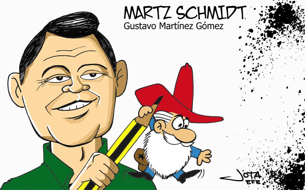 Martz Schmidt, padre del Sheriff Chiquito, entre otros.