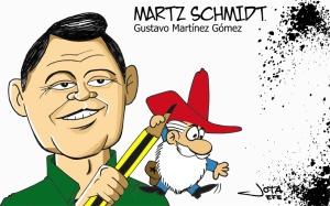 Martz-Schmidt-caricatura