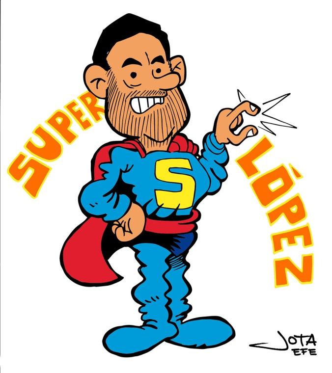 El alcalde Superlópez
