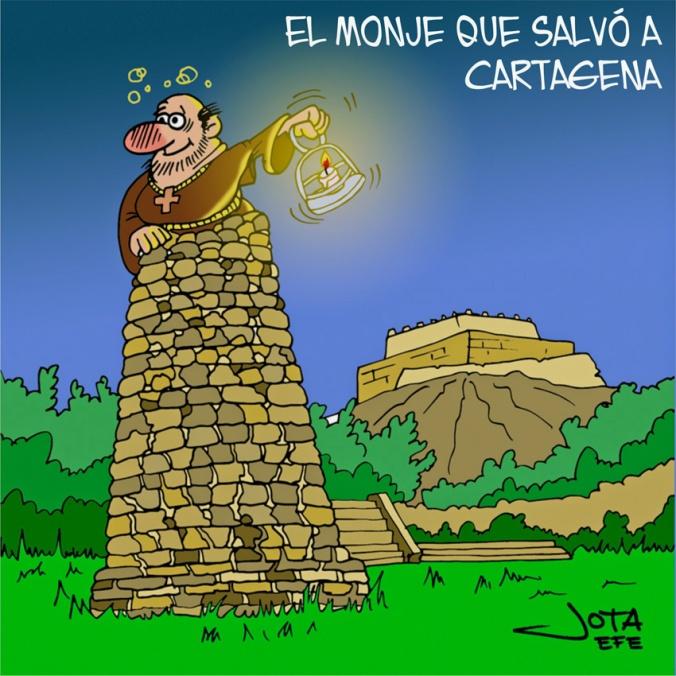 elmonje-que-salvó-a-Cartagena