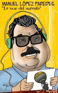 Manuel López Paredes - Caricatura
