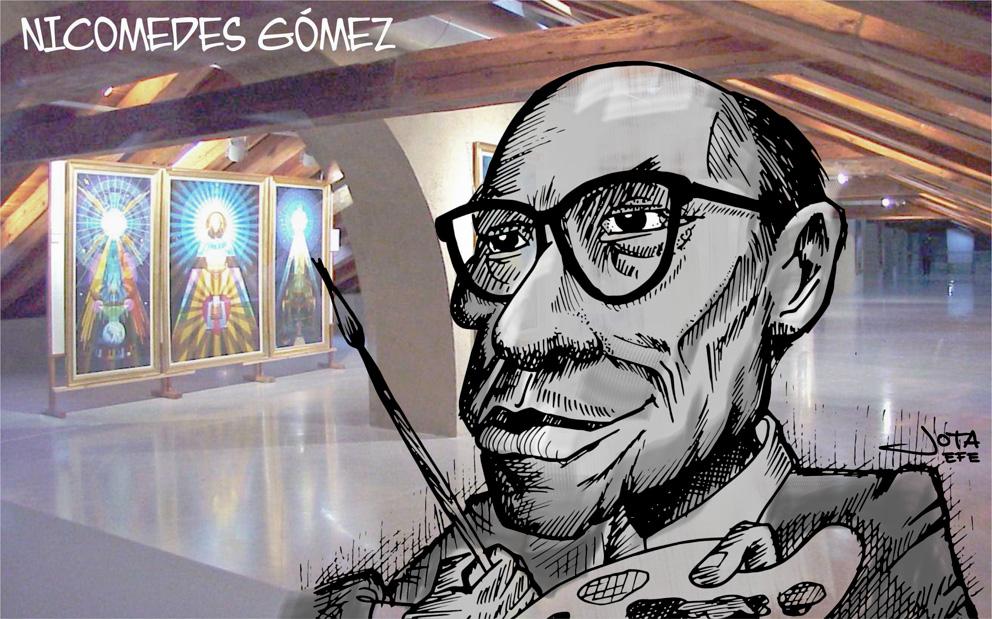 Nicomedes g mez un enorme pintor de y para cartagena cartagena de espa a - Pintores en cartagena ...