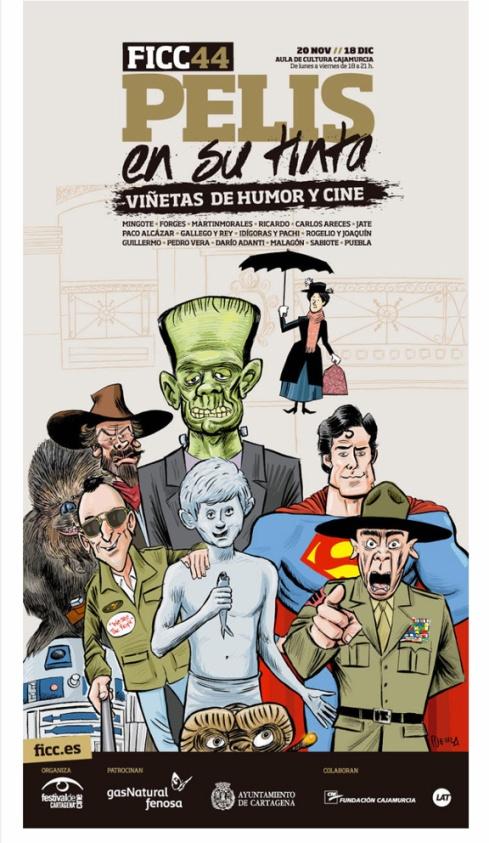 Pelis en su tinta. Exposición del FICC Cartagena 2015