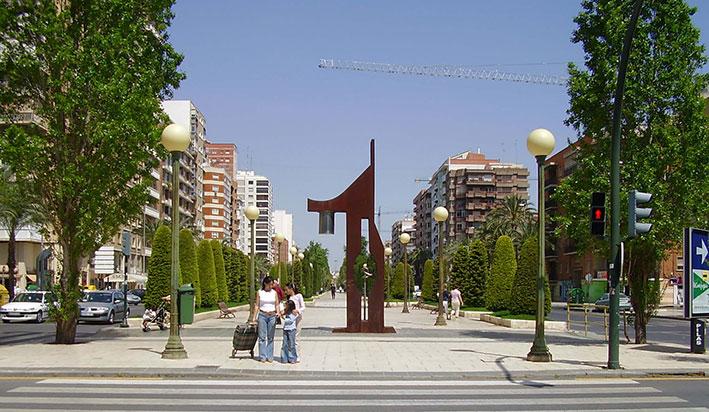 El mismo lugar en 2005.
