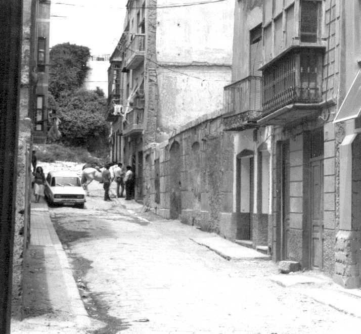 Calle Adarve, años atrás.