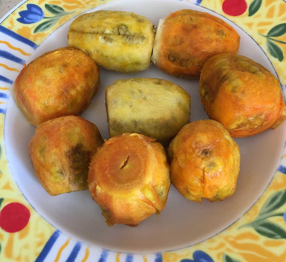 Higos de pala o higos chumbos. Fruto del nopal.